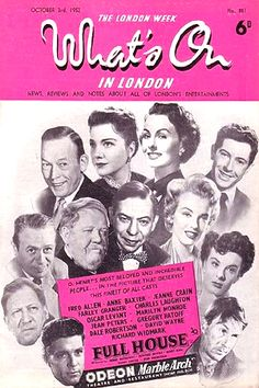 1952 October issue: What's On In London (UK) magazine cover of Marilyn Monroe .... #marilynmonroe #normajeane #vintagemagazine #pinup #iconic #raremagazine #magazinecover #hollywoodactress #1950s