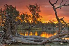 Stunning outback landscape