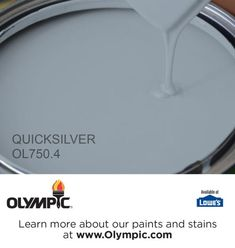QUICKSILVER OL750.4 is a part of the blues collection by Olympic® Paint.