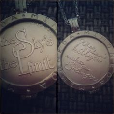 The sky is the limit & what doesn't kill you makes you stronger #new #MiMoneda - @_melanieeexo- #webstagram