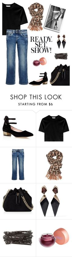 """""""Get Ready! You Are FAB!"""" by schenonek ❤ liked on Polyvore featuring Kate Spade, Pepe Jeans London, Charlotte Russe, Karen Millen, Alexis Bittar and Lipstick Queen"""