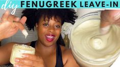 How to Make your Own LEAVE IN Conditioner | Fenugreek and Horsetail for Hair Growth - YouTube Diy Conditioner, Natural Hair Conditioner, Leave In Conditioner, Extreme Hair Growth, Natural Hair Growth, Natural Hair Styles, Fenugreek For Hair, Ayurvedic Hair Oil