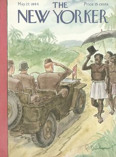 The New Yorker - Saturday, May 27, 1944 - Issue # 1006 - Vol. 20 - N° 15 - Cover by : Perry Barlow