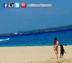 Dogs are man's best friend.  Will you take your dog with you at the beach?  #philippinebeachtennis #beachtennisphilippines #PHBeachTennis #itsmorefuninthephilippines #fadysports #tobys #philippines #beaches #beachsport #fun #sand #summer #sun #sports #CDLbeachtennis #fady #beachtennis #Laluzresort #Laluzbeachresort #olympicbeachtennis