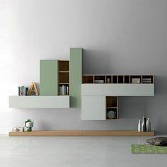 Modern contemporary Italian TV unit Slim by Dall'Agnese #contemporaryfurniture…