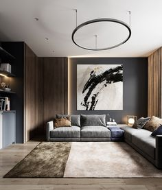 40 Decor ideas To Look For Those Who Want To Renovate The Living Room. Page to our 2019 summer gallery of popular living room decor ideas. We are sure that this year's most popular furniture colors and shapes will win . Apartment Interior, Home Living Room, Interior Design Living Room, Living Room Designs, Living Room Decor, Decor Room, Apartment Living, Dining Room, Decor Interior Design