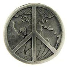"Peace Sign Pin Pewter 1"" by FindingKing. $8.99. This is a new Peace Sign Pin Pewter 1"""