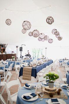 Beautiful Spring Wedding table decor