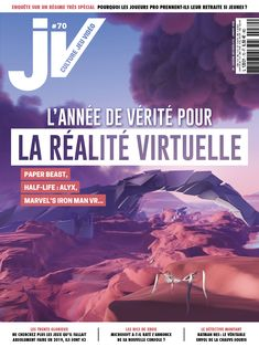 JV#70 - Janvier 2020 Iron Man, Beast, Marvel, Magazine, Cover, Movie Posters, Virtual Reality, Gaming, Iron Men