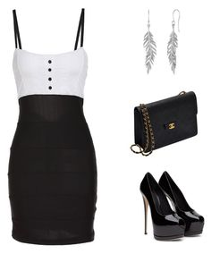 """""""Girls Night Out"""" by alwaysinvogue ❤ liked on Polyvore featuring Chanel"""