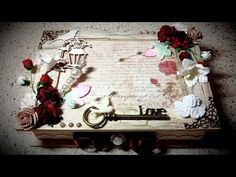 Designer Project - Sweetheart Memory Box - Vick - YouTube