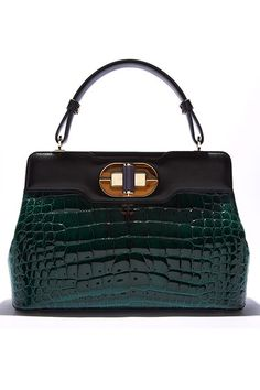 The Extras: Going Green - Bulgari bag