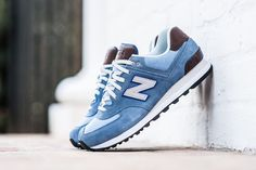 "New Balance ""Cruisin' Pack"" (Blue Chambray) - EU Kicks: Sneaker Magazine New Shoes, Men's Shoes, Shoes Sneakers, New Balance Sneakers, New Balance Shoes, Sneakers Fashion, Fashion Shoes, Mens Fashion, Zapatillas New Balance"