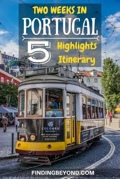 Two Weeks in Portugal: Our 5 Highlights Itinerary Two weeks in Portugal is the perfect amount of time to see the best bits of the country. We'll show you our highlights for your Portugal two week itinerary. Portugal Vacation, Portugal Travel Guide, Europe Travel Guide, Europe Destinations, Travel Guides, Honeymoon Destinations, Fatima Portugal, Spain And Portugal, Lisbon Portugal