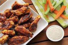 Love chicken wings? Here's an awesome alternative to Buffalo Wild Wings that I think tastes even better – and you'll be surprised justhow easy these baked wings are to make...   First of all, forget frying or parboiling or any of the other crazy gyrations you may think you need to go through toserve a succulentplateful of buffalo-style wings.  [caption id=attachment_6327 align=alignleft width=325] Be sure and give these little guys a good coating of the Chipotle Seasoning Mix before you…
