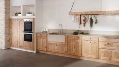 Küchenzeile Holzoptik