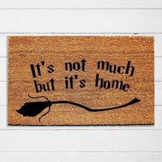 Tag a friend who needs this mat! Our new Harry Potter inspired doormats are perfect for Halloween or everyday! Porch And Balcony, Door Mats, Motto, Be Perfect, Harry Potter, Owl, Backyard, Urban, Inspired