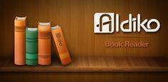 Aldiko Book Reader. Aldiko es un completo lector de libros electrónicos que está disponible en dos versiones: una gratuita y otra premium al precio de 2.49 euros.