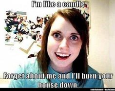 Overly Attached Girlfriend is like a candle