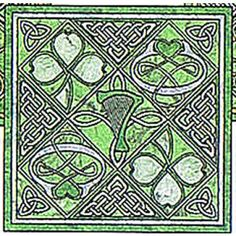 Tribute to Ireland, Celtic Block Patterns by Celtic Crossworks. This website has many Celtic designs, both knotwork and others.