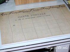 desktop calendar free printable ... vintage French