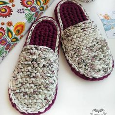 @pavlysch_ik #slippers #knitting #knit#crochet #crochetaddict #crochetlove #crocheting #ganchillo #uncinetto #virka #tejer #tejido #häkeln…