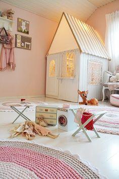 fairytale themed little girl's room