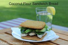 Coconut Flour Bread Recipe – Perfect Sandwich Bread Recipe on Yummly