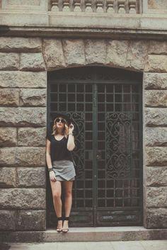 Look do dia: amor ao P&B — Niina Secrets
