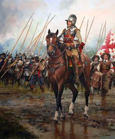 """""""Oficial del ejército español, siglo XVII"""""""