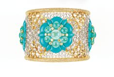 The New Vision of Beauty   Glenn Spiro cuff bracelet