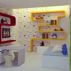 Ficando Especialistas em quartos infantis!! #fmarquitetura_pe #quartoinfantil #interiores #quartodecrianca #colors #decor #kids