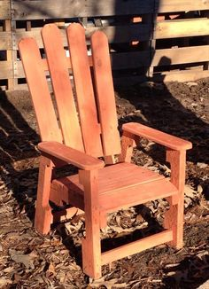 DIY Pallet Chair For Kids | 99 Pallets