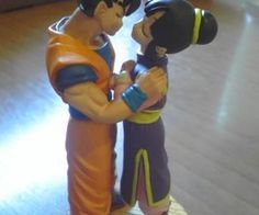 dragon ball z wedding cake toppers. Great surprise for my hubby to be♥