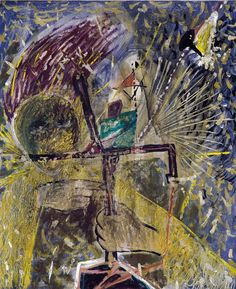 Personage by Catalan Artist: Antoni Tapies 1947