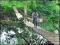 Hammock Bridge at Branch Mouth
