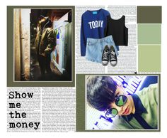 """Simon D-o-m-i-n-i-c oh-oh"" by yb77 ❤ liked on Polyvore featuring Monki, Converse, Simon, Dominic, showmethemoney and SMTH5"