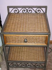 Pier 1 Wicker Metal 6 Drawer Dresser Home In 2019