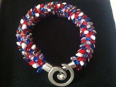 Freedom Kumihimo Bracelet on Etsy, $17.00