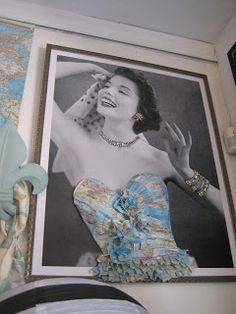 need to do this on one of my half bust dress forms to hang jewelry on!