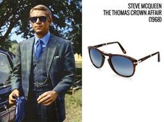 Brand Anniversary: 100 years of Persol                                                   The 714 model worn by Steve McQueen in The Thomas Crown Affair was relaunched in 2010 in an exclusive edition. Recent appearances of Persol glasses in movies include Jesse Eisenberg in Now You See Me 2, Ryan Gosling in La La Land, Daniel Craig in Casino Royale and Arnold Schwarzenegger in Terminator 2.