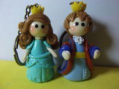 llavero rey y reina