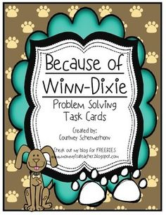 Because+Of+Winn+Dixie+Coloring+Pages Literacy