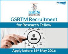 GSBTM Recruitment