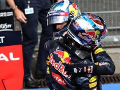 Daniel Ricciardo and Max Verstappen had plenty to celebrate on Sunday night as they bagged Red Bull's first double podium of the…