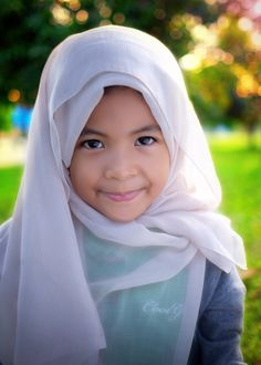 My little daughter in hijab