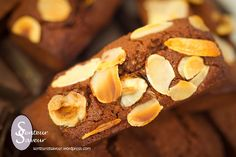 Financiers au chocolat de Christophe Felder