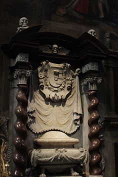 Memento Mori Altar in the St. Vitus Cathedral, Prague""