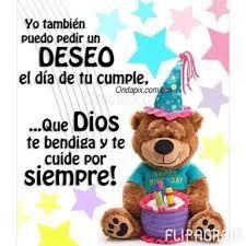 Resultado de imagen para dios te bendiga en tu cumpleaños