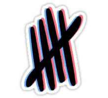 Stickers featuring millions of original designs created by independent artists. Tumblr Stickers, Cool Stickers, Printable Stickers, Laptop Stickers, Planner Stickers, Larry Stylinson, 5sos Logo, 5sos Wallpaper, Homemade Stickers